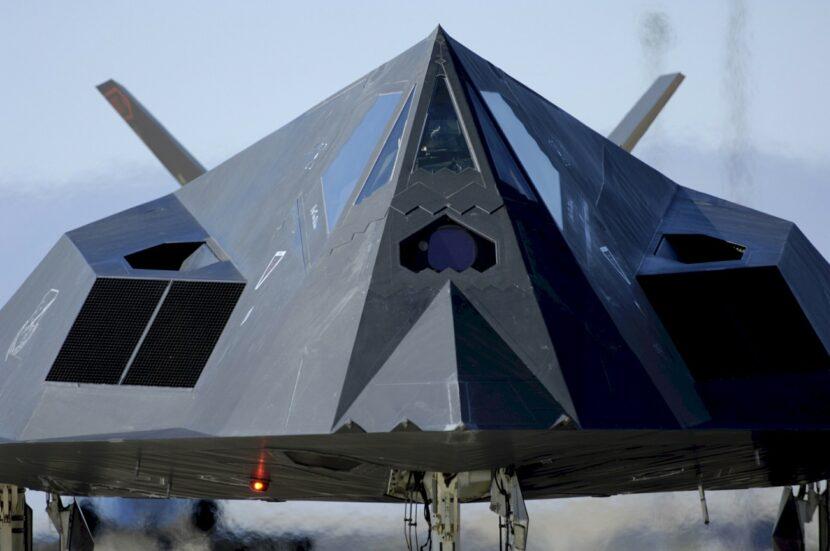 F-117 Nighthawk parked