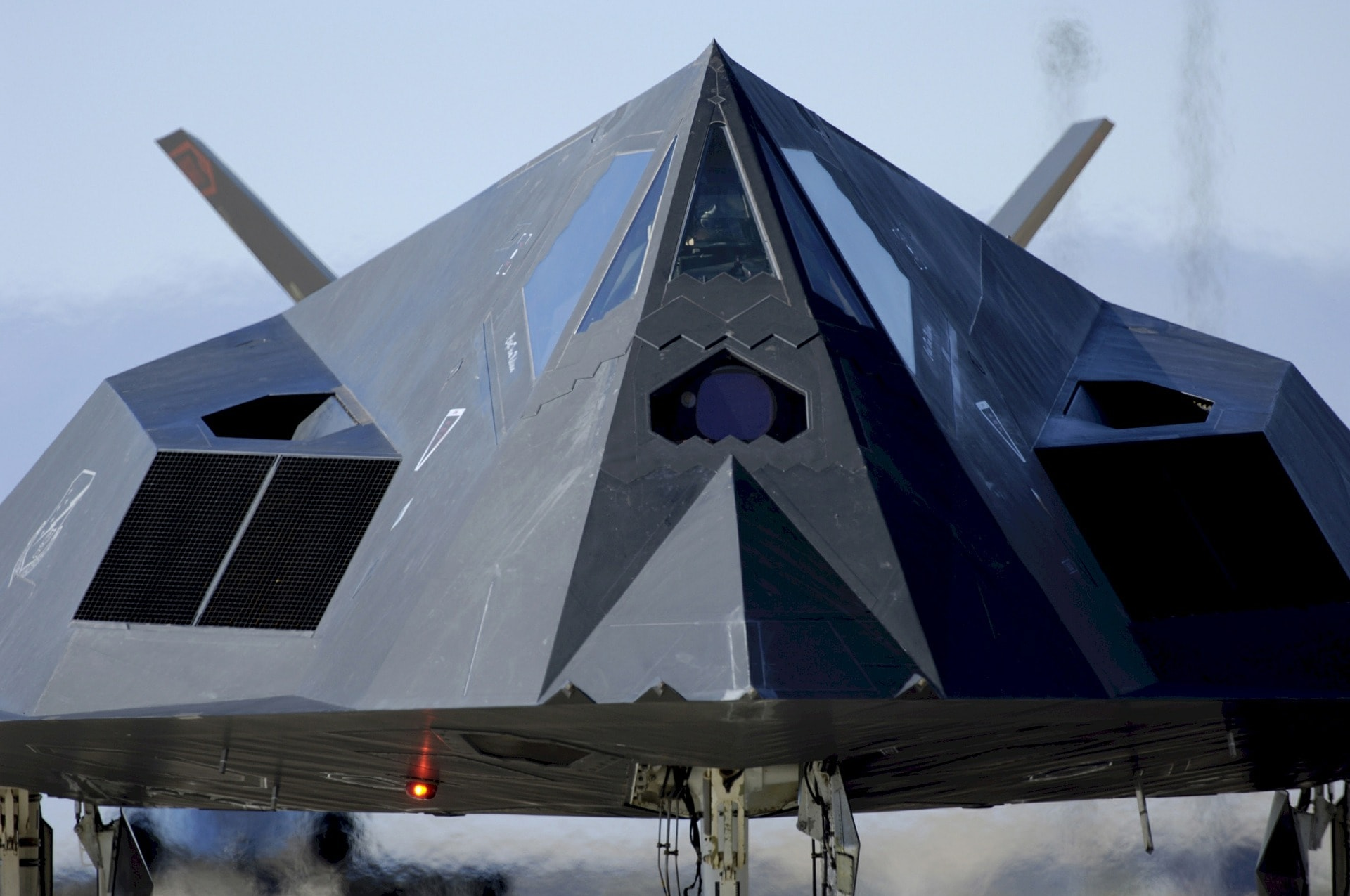 F-117 Nighthawk parked