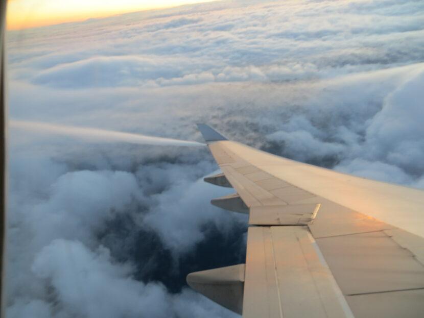plane dumping fuel