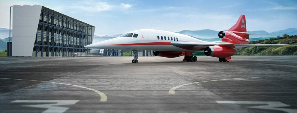 Aerion Supersonic passenger aircraft