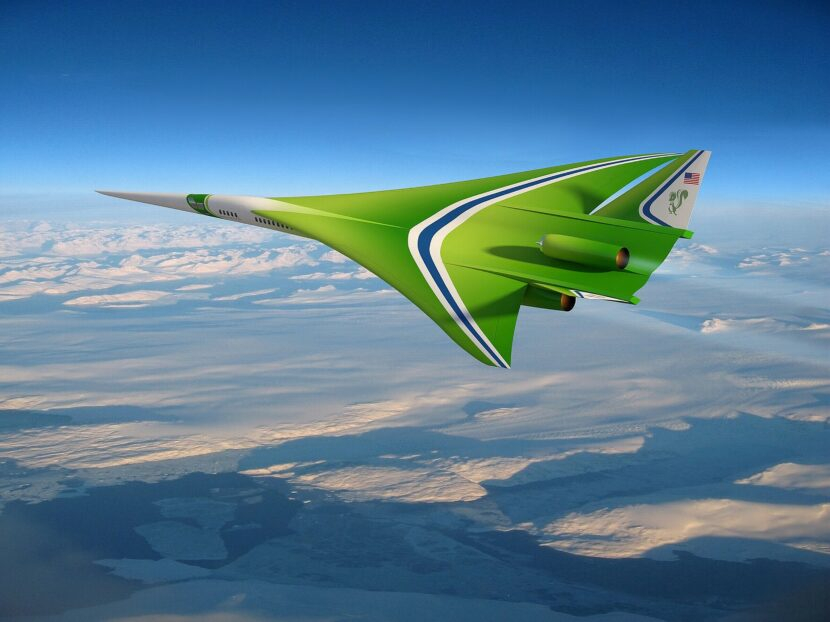 Future supersonic passenger aircraft