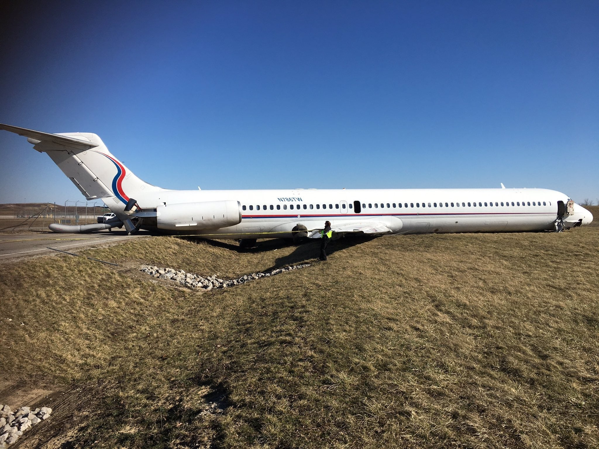 aircraft overrun runway