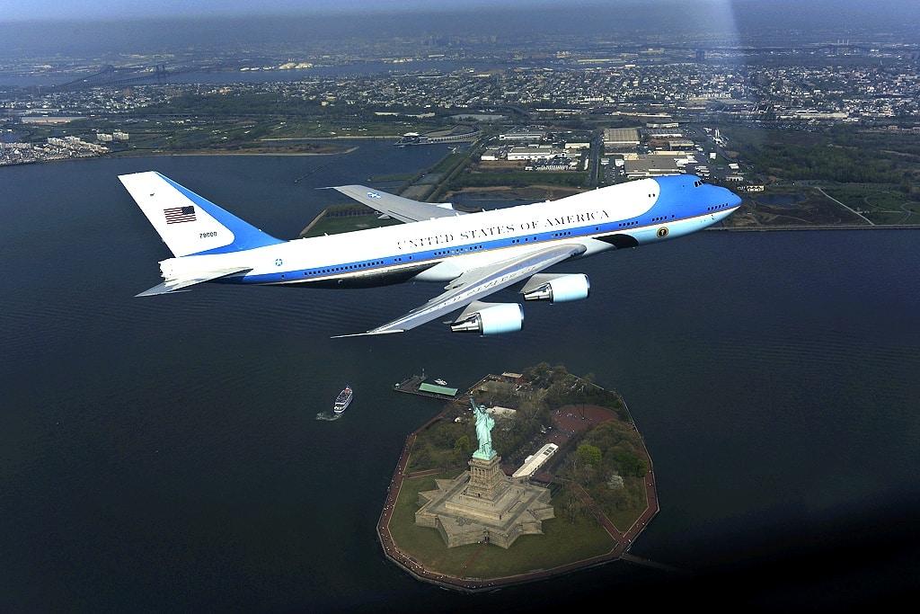 president airplane