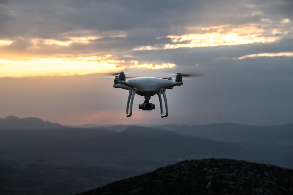 You can fly drone at night
